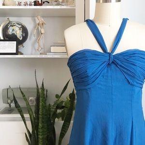 The Limited • Crinkle Silk Chiffon Dress